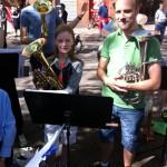 Göteborgsvarvet med Betlehemskyrkans musikkår 2014